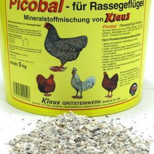 Mineralien Hühner