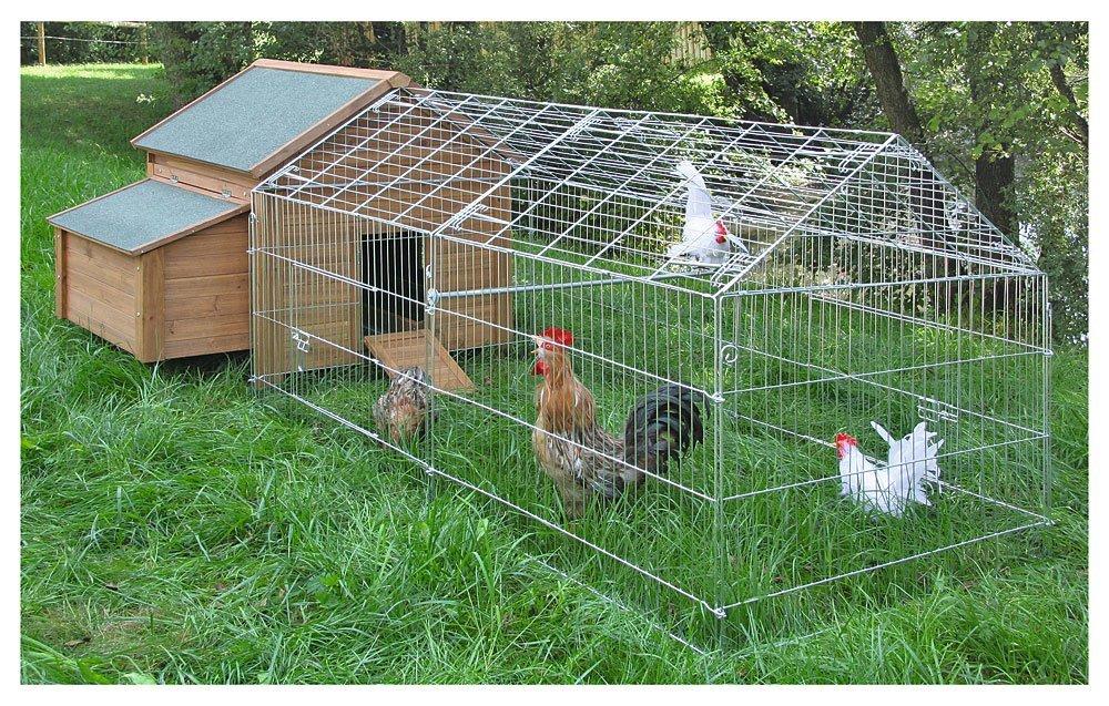 Freilaufgehege für Hühner